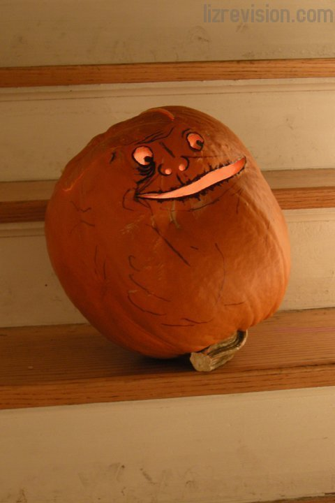 forever alone pumpkin